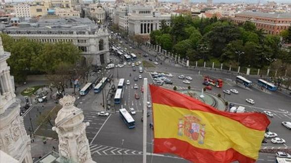 Recesiunea economiei spaniole se adanceste. PIB-ul e in coborare