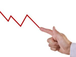 Recesiunea trece, bancile continua sa scada. Vezi motivele