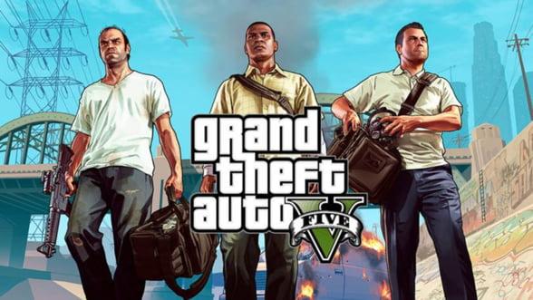 Record in lumea jocurilor video. Cat au incasat producatorii Grand Theft Auto V in prima zi de lansare