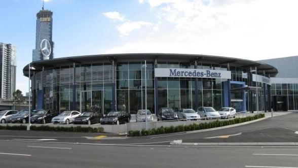 Record istoric la vanzarile Mercedes in martie