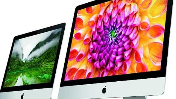 Refresh pentru linia iMac de la Apple: procesoare de ultima generatie si grafica noua