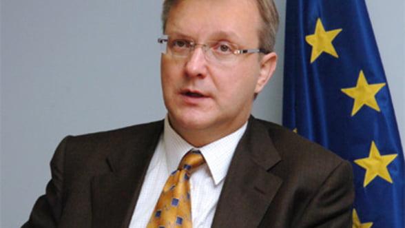 Rehn: Italia nu poate face fata presiunilor pietei decat pe termen scurt