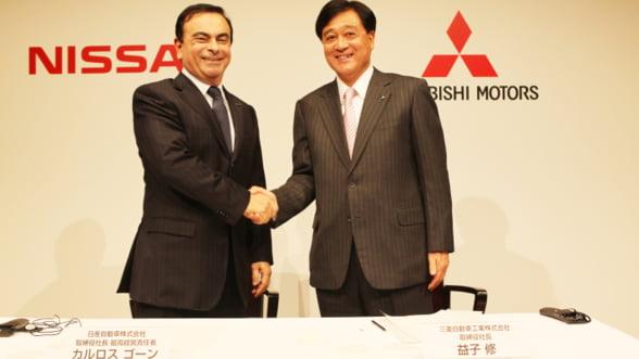 Renault-Nissan si Mitsubishi vor construi impreuna vehicule pentru a-si reduce costurile