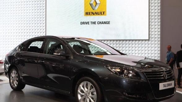 Renault aproape de un acord pentru constructia unei uzine in China - presa