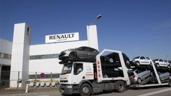 Renault investeste 420 milioane de euro pentru productia de modele noi in Franta