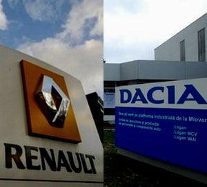 Renault si Dacia: 500.000 de automobile ieftine, in 2009