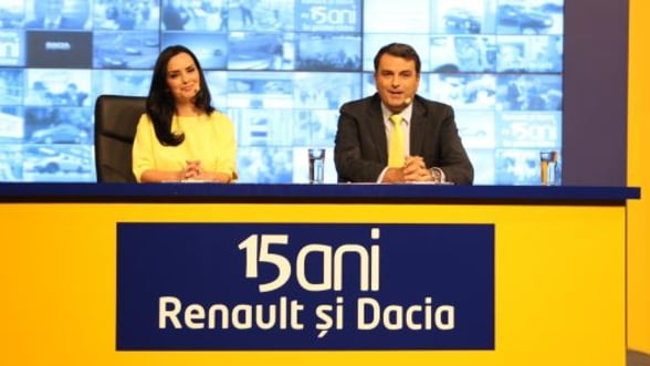 Renault si Dacia, de 15 ani in prime-time