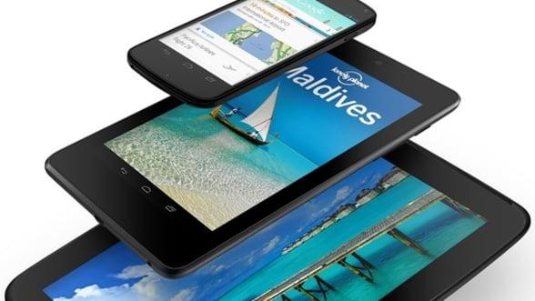 Replica Google la ofensiva Apple: O noua tableta Nexus si un nou smartphone