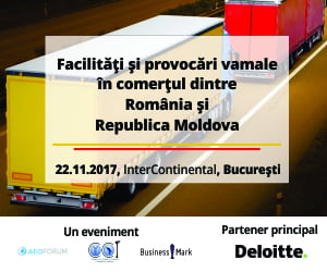 Reprezentantii vamali din Romania si Republica Moldova se reunesc la Bucuresti pentru a dezbate facilitatile si provocarile vamale dintre cele doua tari