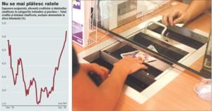 Restantele populatiei la credite au scazut usor in decembrie, la 981,2 milioane lei