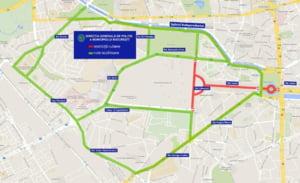 Restrictii de trafic in Capitala de vineri pana duminica, pentru Zilele Bucurestiului