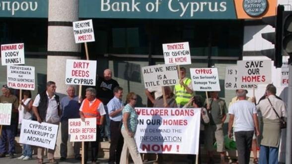 Retrogradarea bancilor cipriote si efectele asupra Romaniei - analisti