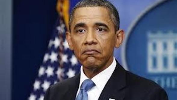 Retrospectiva 2013 - Un an cu emotii pentru Obama: blocaj bugetar, administratie paralizata si probleme informatice