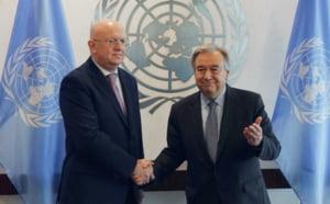 Reuniune cu usile inchise a Consiliului de Securitate: Nu putem exclude un razboi SUA-Rusia, a spus ambasadorul rus la ONU