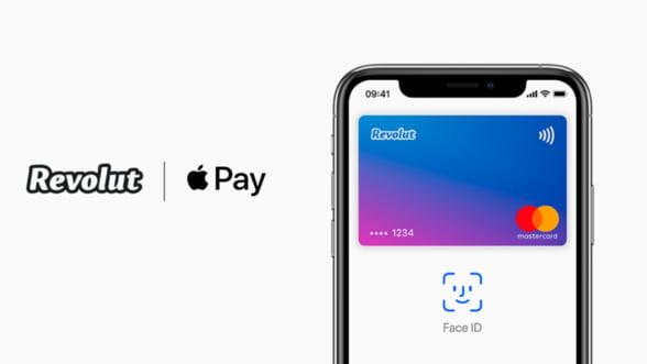 Revolut este disponibil cu Apple Pay in Romania