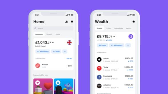 Revolut lanseaza o noua versiune a aplicatiei