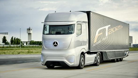 Revolutie in transport: Camioanele care se conduc singure au liber pe drumurile din Germania