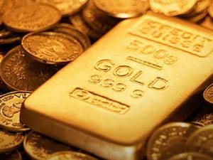 Rezerva de aur a Romaniei, subiect de discutie intre Ponta si Basescu