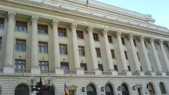 Rezervele valutare la BNR au scazut in iunie cu 384 milioane euro