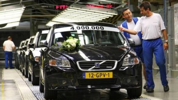 Rezultate financiare: Volvo anunta profit in scadere