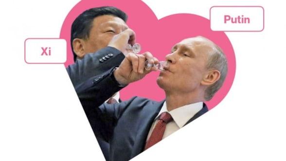 Rivalitate data uitarii: Rusia a batut palma cu China, in sfidarea Occidentului