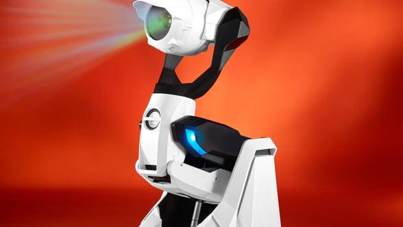 Robo-proiectorul de casa, gadgetul dedicat serilor de distractie. Nu vrei si tu unul?