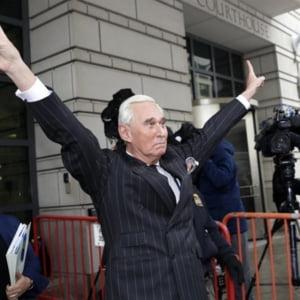 Roger Stone a fost condamnat la peste 3 ani de inchisoare
