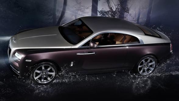 Rolls-Royce Wraith vine in Romania in 2014. Iti place noua sportiva coupe?