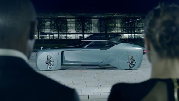 Rolls Royce dezvaluie limuzina anilor patruzeci. 2040!