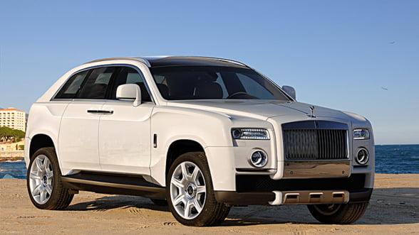 Rolls Royce pregateste primul SUV - eleganta in fiecare aventura