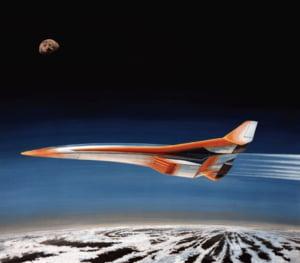 Rolls-Royce se implica in dezvoltarea unui avion supersonic cu care turistii sa poata zbura in spatiu