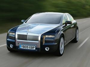 Rolls-Royce va prezenta in martie prima sa masina electrica