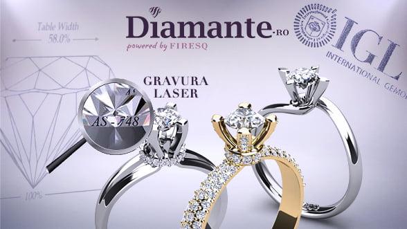 Romania: Diamante certificate cu tehnologia folosita de FBI