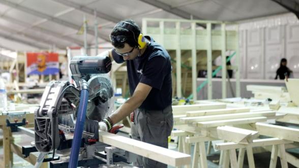 Romania, a doua crestere a productiei industriale din Uniunea Europeana