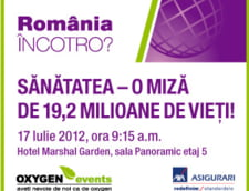 Romania, incotro? Sanatatea, o miza de 19,2 milioane de vieti!