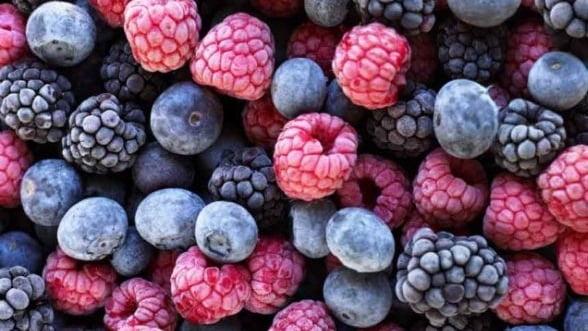 Romania a exportat fructe de padure contaminate cu virusul hepatitei A