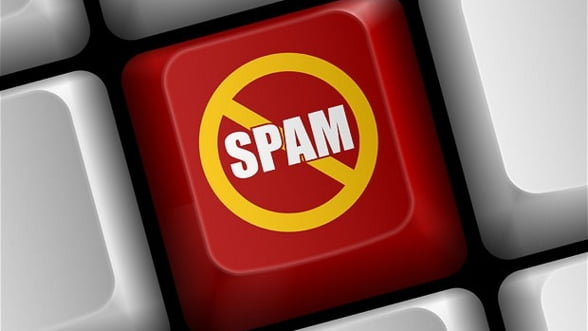 Romania a fost sursa pentru 1,3% din totalul de mesaje spam, in iunie