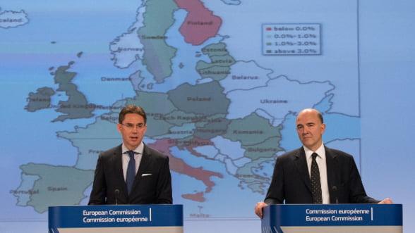 Romania a iesit din recesiune in trimestrul al treilea, potrivit estimarilor Comisiei Europene