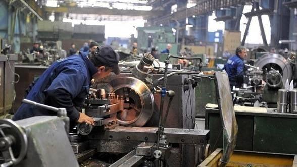 Romania a inregistat in martie a doua cea mai rapida crestere a productiei industriale din UE