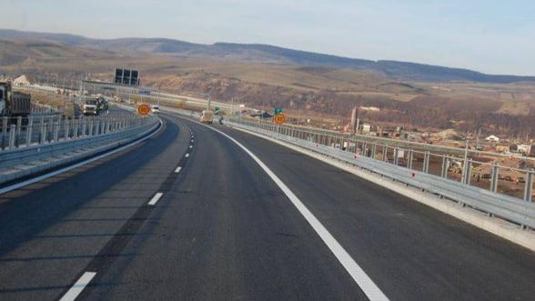 Romania are 644 de km de autostrada, din care 94 de km s-au construit anul trecut