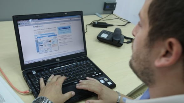 Romania are infrastructura de banda larga, in proportie de 90% din suprafata tarii, dar de internet