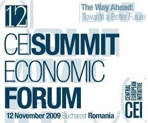 Romania organizeaza cea de-a 12-a editie a CEI Summit Economic Forum