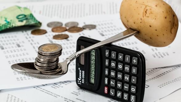Romania s-a aflat la un pas de cea mai mare inflatie anuala din UE, in ianuarie