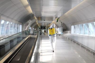 Romania se protejeaza de coronavirus: Aeroportul Otopeni este dezinfectat o data la 4 ore