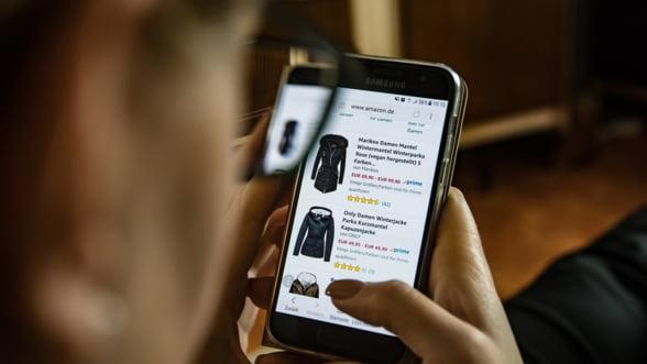 Romanii, pe ultimul loc in UE la achizitiile online, in 2017