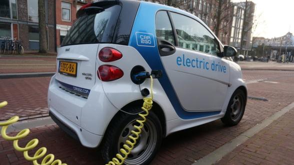 Romanii au cumparat in 2017 aproape 3.000 de masini electrice! Cele mai multe sunt BMW
