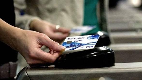Romanii au tranzactionat prin carduri Visa aproape 20 de miliarde de euro anul trecut