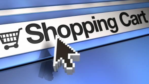 Romanii isi fac cumparaturile online de la companii sau prin portaluri din strainatate