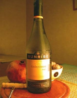 Romanii prind gustul vinului chilian