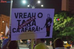 Romanii protesteaza si duminica: Un pas mic pentru Dragnea, un salt urias pentru Romania